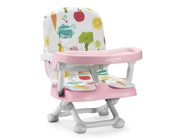 Cadeira de Alimentação Portátil Multikids Baby Frutinhas - 1