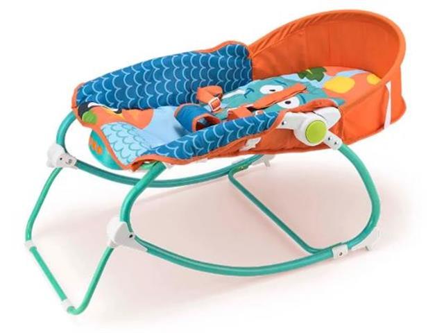 Cadeira de Balanço para Bebês Multikids Baby Elefante - 2