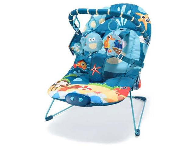 Cadeira de Descanso para Bebês Multikids Baby Baleia