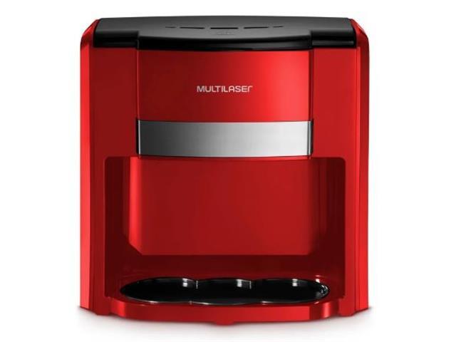 Cafeteira Elétrica Multilaser 2 Xícaras Vermelha 500W 220V - 2