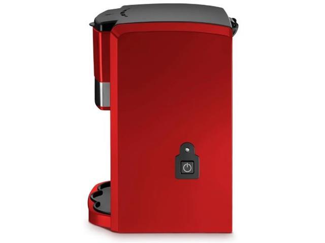 Cafeteira Elétrica Multilaser 2 Xícaras Vermelha 500W 220V - 3