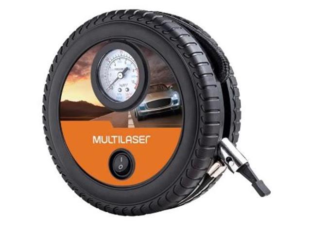 Compressor de Ar Roda Multilaser 12v 150psi 3 Bicos Adaptadores - 2