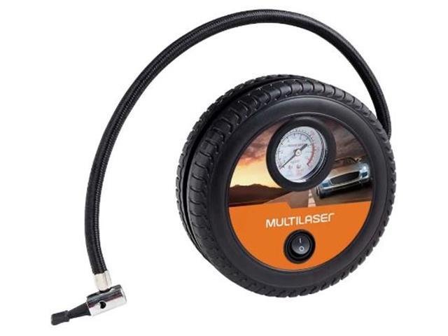Compressor de Ar Roda Multilaser 12v 150psi 3 Bicos Adaptadores - 4