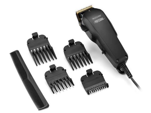 Cortador de Cabelo Profissional Multilaser com Acessóios 10W 220V