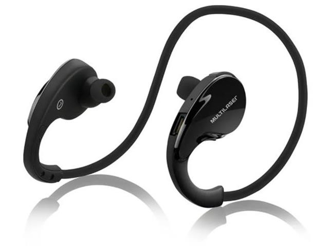 Fone de Ouvido Bluetooth Multilaser Arco Sport Preto