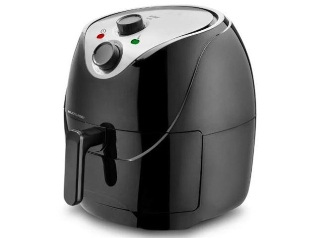 Fritadeira Elétrica Multilaser Air Fryer 6,5 Litros Preta 220V - 1