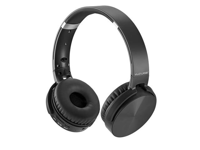 Headphone Bluetooth Multilaser Premium Sd/Aux/Fm Preto