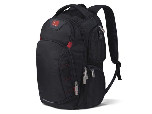 Mochila para Notebook Multilaser Swisspack Large até 15.6 Pol Preta