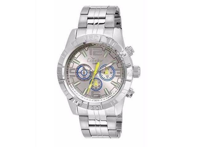 Relógio Condor Masculino Civic Prata COVD54AQ/3K