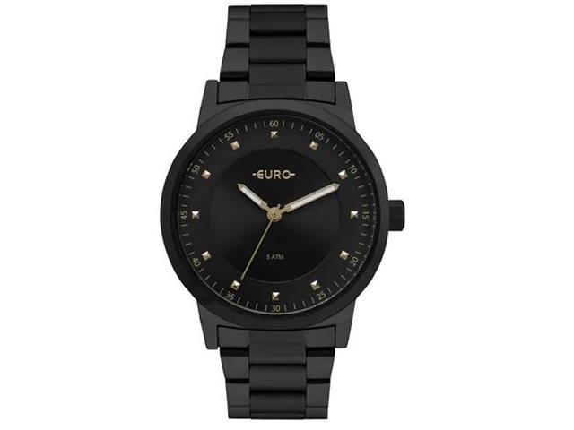 Relógio Euro Feminino Trendy Preto EU2036YNQ/4P