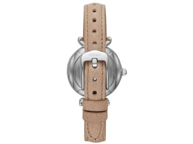 Relógio Fossil Feminino Carlie Mini Prateado em Couro ES4530/0KN - 1