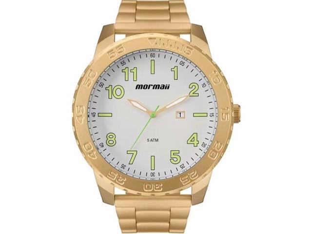 Relógio Mormaii Masculino Dourado MO2115BE/4B