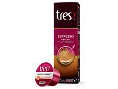 Cápsulas Três Corações Café Espresso Vibrante