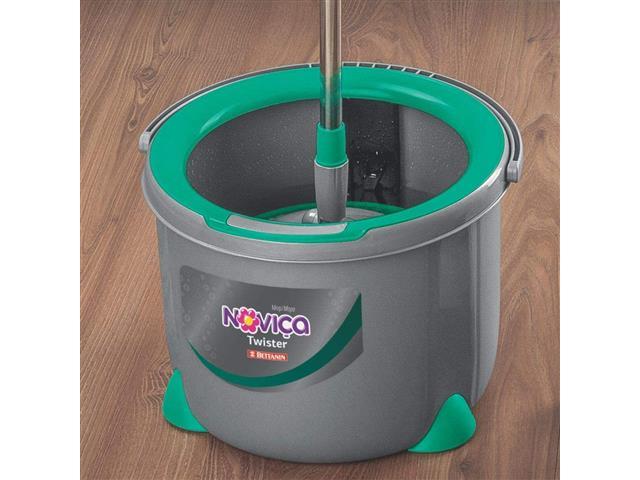 Mop Twister Bettanin Noviça com Balde 13 Litros - 4
