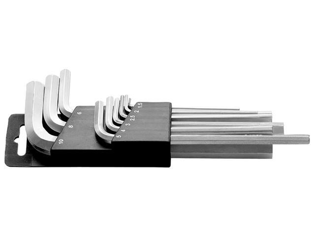 Jogo de Chaves Hexagonais Longas Tramontina em Aço Especial 9 Peças
