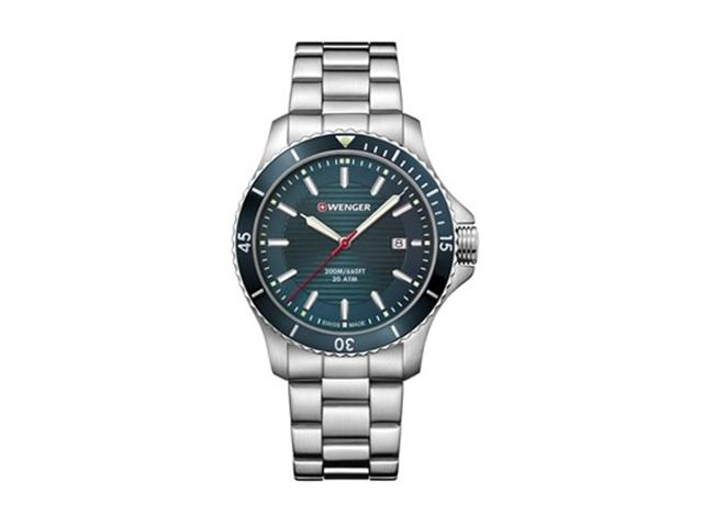 Relógio Wenger Seaforce Prateado