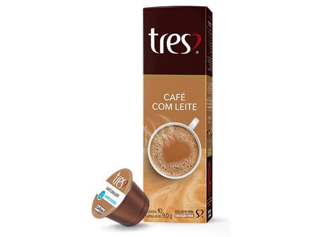 Combo 20 Cápsulas Três Corações Espresso Vibrante e Café com Leite - 3