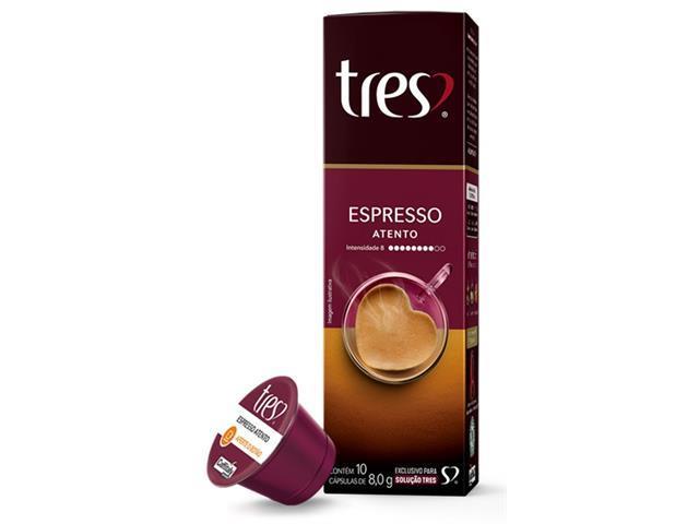 Combo 40 Cápsulas Três Corações Espresso Vibrante Atento Supremo Pleno - 3