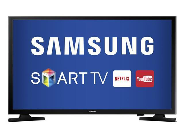 "Smart TV LED 32"" Samsung HTDV Conversor TV Digital 2 HDMI 1 USB Wi-Fi"