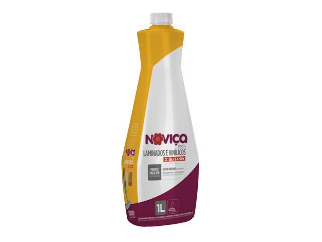 Limpa Pisos Concentrado Noviça Laminados e Vinílicos 1 Litro - 1