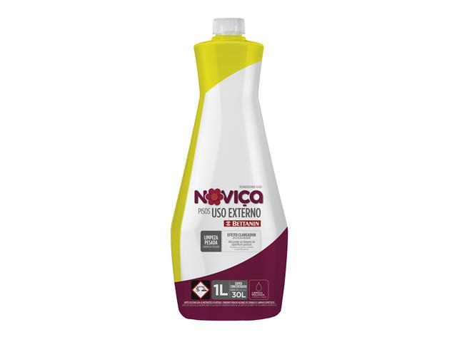 Limpa Pisos Concentrado Noviça Uso Externo 1 Litro