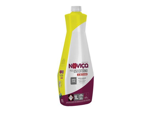 Limpa Pisos Concentrado Noviça Uso Externo 1 Litro - 1