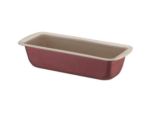Forma para Pão e Bolo Tramontina Antiaderente Vermelha 26CM
