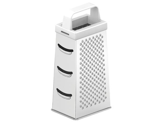 Ralador 4 Faces Tramontina Utilitá em Aço Inox Branco