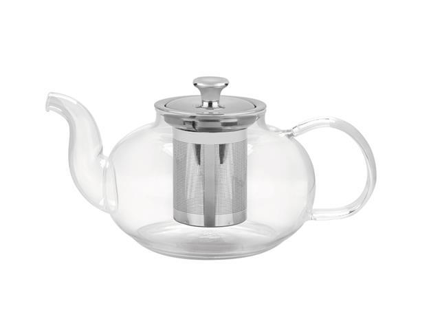 Bule para Chá Tramontina em Vidro e Aço Inox com Infusor 1 Litro