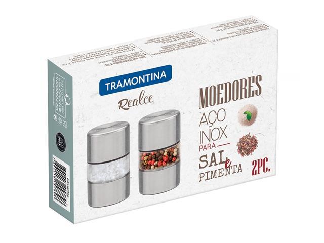 Conjunto de Moedores para Sal e Pimenta Tramontina Realce 2 Peças - 2
