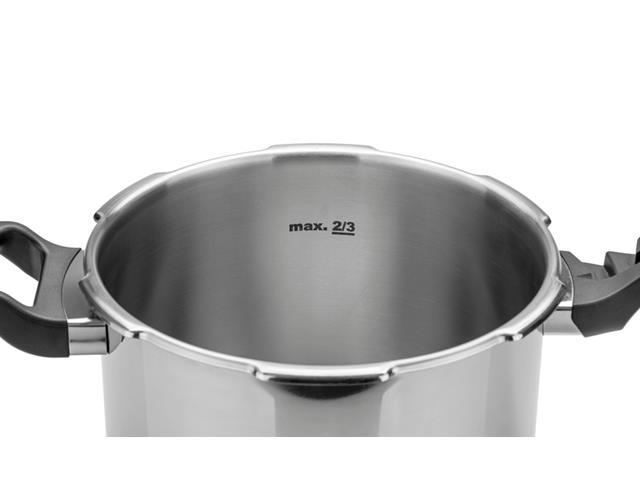 Panela de Pressão Tramontina Brava em Aço Inox com Fundo Triplo – 4,5 L - 5