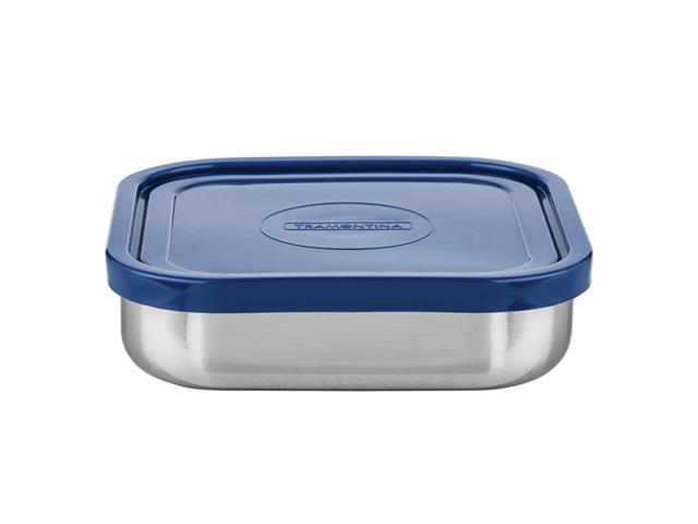Pote Tramontina Freezinox Azul Quadrado 800ML