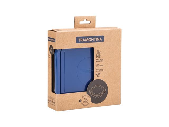 Pote Tramontina Freezinox Azul Quadrado 800ML - 1