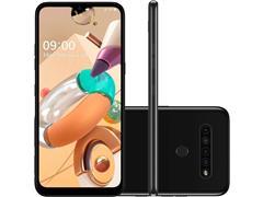 "Smartphone LG K41S 4G 32GB Duos 6.55""HD+ IA Quad-Câm 13+5+2+2MP Preto"