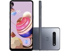 """Smartphone LG K51S 4G 64GB Duo 6,55""""HD+ IA Quad-Câm 32+5+2+2MP Titânio"""