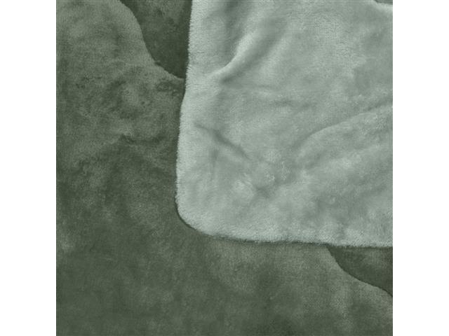 Edredom Buettner Queen Plush Flanel Dupla Face Verde - 2