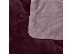 Edredom Buettner King Plush Flanel Dupla Face Rosé - 2