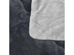 Edredom Buettner King Plush Flanel Dupla Face Metal - 2