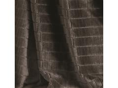Manta Buettner Casal Ambiance Blocos Brilho Flannel Chocolate - 1