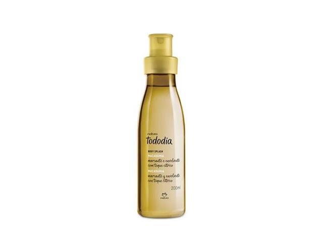 Spray Body Splash Desodorante Colônia Natura TodoDia Macadâmia 200ml
