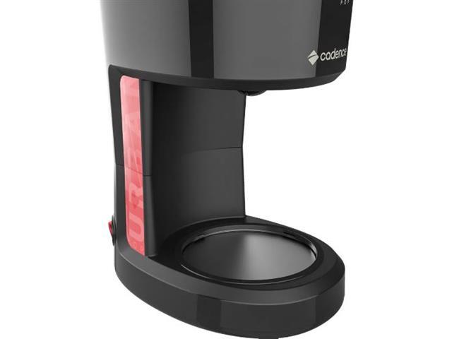 Cafeteira Elétrica Cadence Urban Pop Vermelha e Preta 1,2 Litros 110V - 4