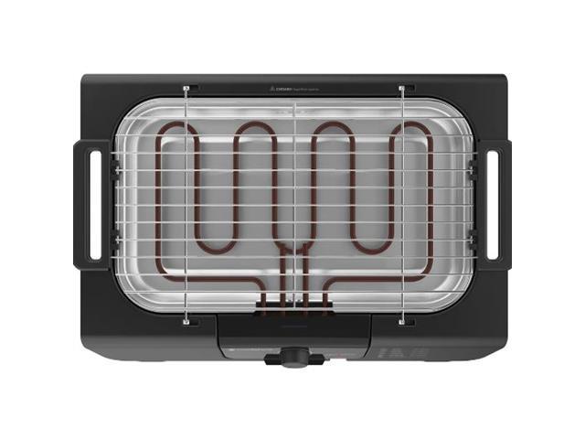 Churrasqueira Elétrica Cadence Grill Menu II Preta 220V - 3