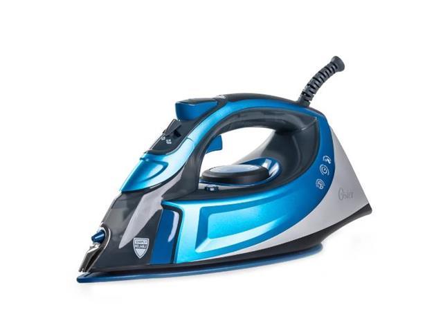 Ferro de Passar a Vapor Cerâmica Oster Turbo Steam Azul 220V
