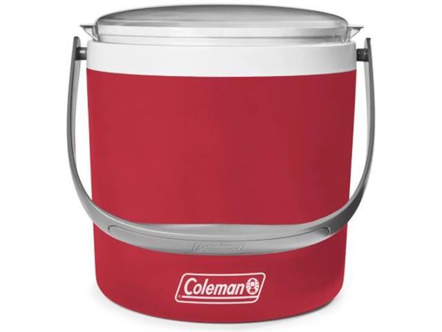 Caixa Térmica Coleman Seafoam Circle Vermelha 8,5 Litros