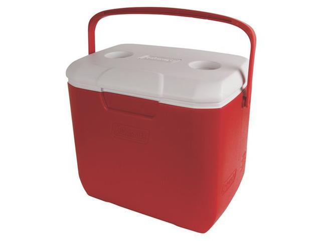 Caixa Térmica Coleman Vermelha 28 Litros