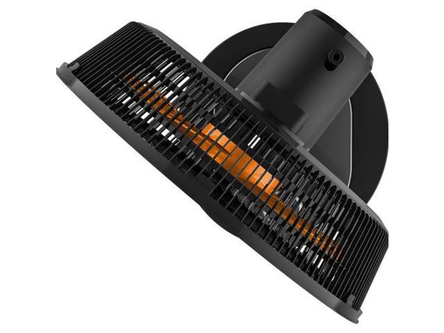 Ventilador 2 em 1 Cadence Turbo Conforto Orange Black - 3