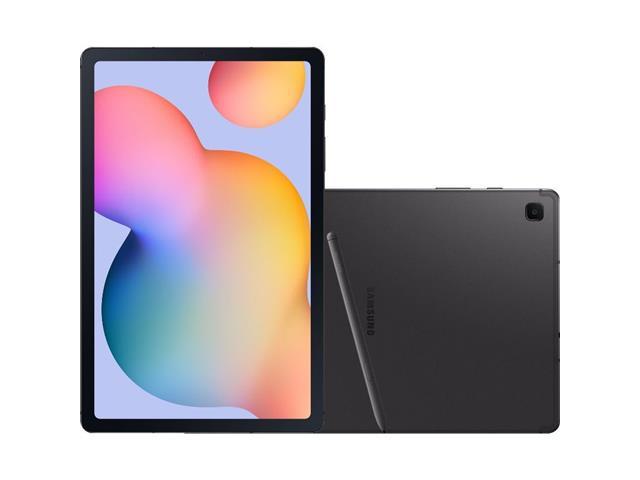 "Tablet Samsung Galaxy Tab S6 Lite S PEN 4G 64GB 10.4""4GB RAM 5MP Cinza"