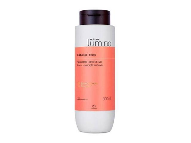 Shampoo Nutritivo Cabelos Secos Natura Lumina 300ML