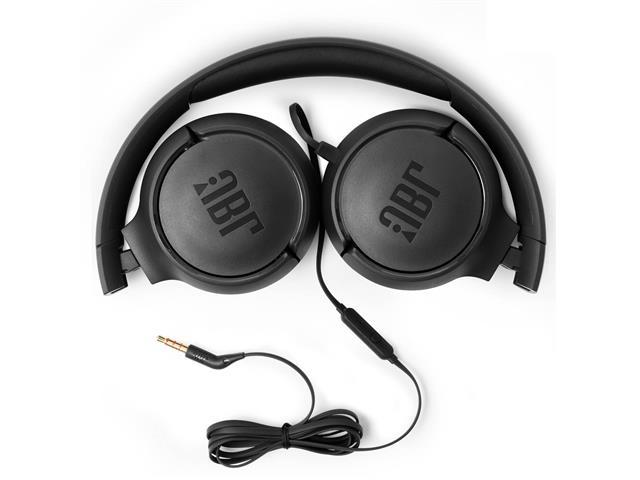 Fone de Ouvido JBL T500 Headphone Preto JBLT500BLK - 1