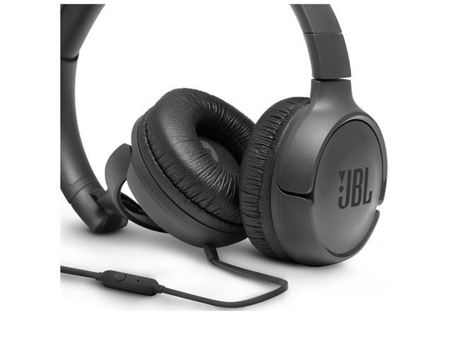 Fone de Ouvido JBL T500 Headphone Preto JBLT500BLK - 2